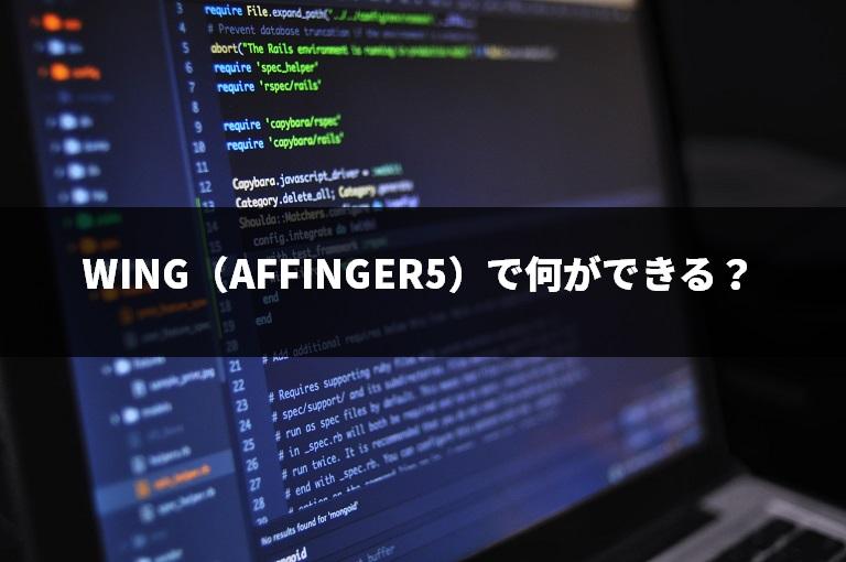 WING(AFFINGER5)で何ができる?